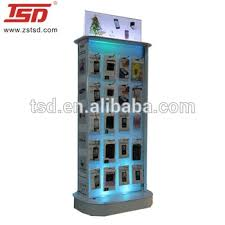 Cell Phone Accessories Display Stand Awesome Cell Phone Accessories Display Rack With Led LightMetal Handing