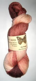 Fly Designs Yarn Boo Fly Sock Bamboo Merino Nylon Sock Yarn