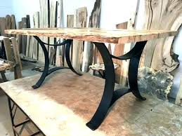 wood dining table with metal legs dining room table with metal legs wood wooden dining table