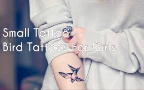 Small Tattoo Bird Tattoos For Girls Youtube Cute Pictures Tumblr