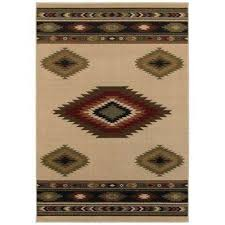 aztec ivory 8 ft x 10 ft area rug