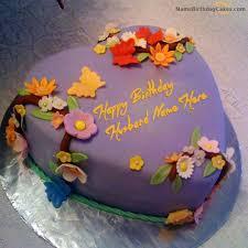 Write Name On Best Birthday Cake For Husband Happy Birthday Wishes
