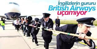 British Airways tüm uçuşları iptal etti