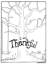 29 The Giving Tree Coloring Pages, Thanksgiving Dinner Coloring ...