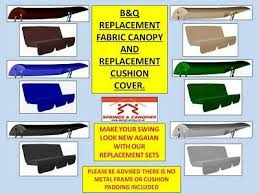 replacement canopy cushion cover set