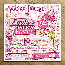 Personalised Birthday Invitations For Kids Childrens Party Invitations Notonthehighstreet Com