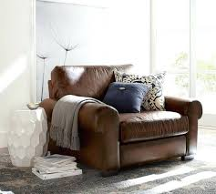 turner leather armchair roll arm grand pottery barn sofa reviews turner leather armchair