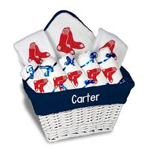 personalized boston red sox large gift basket