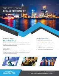 Travel Templates Clean Travel Flyer Design Template In Word Psd Publisher