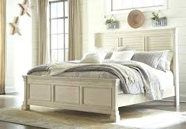 Queen Panel Bed With Louvered Headboard Bedroom Furniture Complete ...