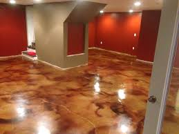 acid stained floor 19 diy stain concrete