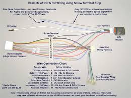 pioneer car stereo wiring harness diagram mechanic s corner radio pioneer car radio wiring diagram color at Pioneer Car Radio Wiring Diagram