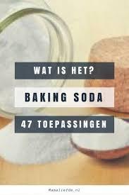 Baking, soda, 50 manieren om dit wondermiddel te gebruiken