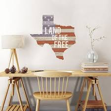 picture of texas wall art kit