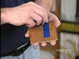 therma tru doors diy door staining