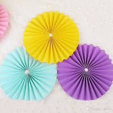 Flower Out Of Paper Tissue Paper Cut Out Paper Fans Pinwheels Hanging Flower Paper