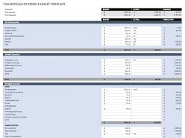 Free Budget Download Free Budget Templates In Excel For Any Use Household Expense