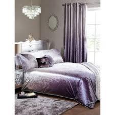 velvet bedding mauve crushed sets full duvet set king
