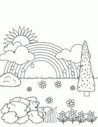 Small Picture Rainbow Template To Print Coloring pages of rainbows Coloring