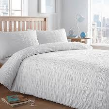 white bed sheets texture. Home Collection Basics White Textured \u0027Seersucker\u0027 Bedding Set | Debenhams Bed Sheets Texture R