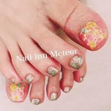 ペディキュア夏nail Inn Meteor大府市のネイルサロン