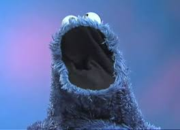 cookie monster eating cookies wallpaper. Exellent Cookies The Cookie Monster Puppet Is Built With A Hole In The Back Of Mouth So  That Puppeteer Can Create Illusion Character Eating Any  In Eating Cookies Wallpaper