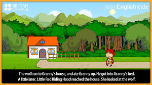 little red riding hood kids stories learnenglish kids british council you