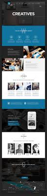 Website Templates Creative Digital Agency Website Template Free PSD PSDFreebies 22