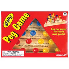 Wooden Peg Games Toysmith Classic Wooden Peg Game 49