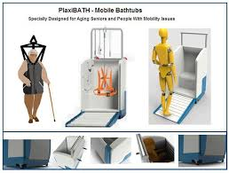 traditional step in bathrooms or bathtubs present a risky situation for aging seniors or people with mobility issues as they have great difficulties lifting
