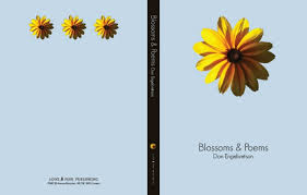blossoms and poems front and back cover layout design for coffee table book objective was to display various native minnesota flowers in an attractive