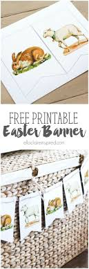 17 best images about invites templates christmas easter bunny and lamb banner printable