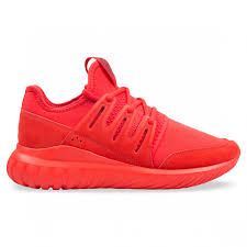 Radial Red Adidas Tubular Radial Red Black Hype Dc