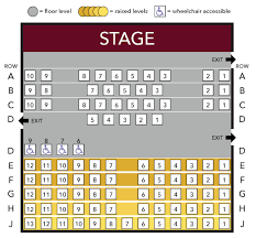 Playhouse In The Park Seating Chart Elmwood Playhouse Seating Chart Standard Elmwood Playhouse