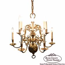 virginia metalcrafters 12 arm brass colonial williamsburg chandelier