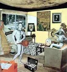 pop art article pop khan academy richard hamilton just what is it that makes today s home so different so appealing 1956 collage 26 cm atilde151 24 8 cm 10 25 in atilde151 9 75 in