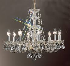 monticello gold plated chandelier light