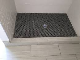 Penny Tile Floor.