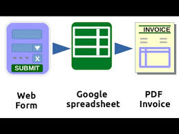 Connect Web Form To Google Spreadsheet And Generate Pdf Invoice ...