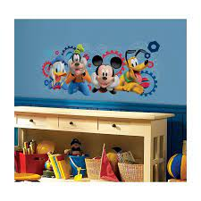 mickey mouse club capers giant wall
