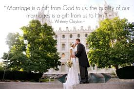 marriage is a gift from