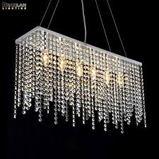 Contemporary crystal pendant lighting Chandelier Contemporary Crystal Pendant Light Fixture Rectangle Crystal Hanging Drop Lamp Stainless Steel Pendant Lustre For Living Room Aliexpress Contemporary Crystal Pendant Light Fixture Rectangle Crystal Hanging