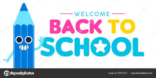 Welcome Back School Web Banner Illustration Happy Color