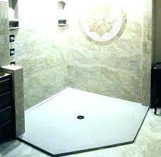 onyx collection shower base custom pan showers drain tool
