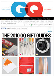 take ivy in gq s 2010 gift guide