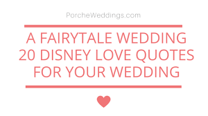 Disney Love Quotes Magnificent A Disney Fairytale Wedding 48 Disney Love Quotes
