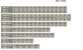 Size Guide Aarons Surplus Army Navy Ltd Rainham