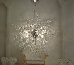 led chandelier light fixture contemporary pendant lighting modern crystal new