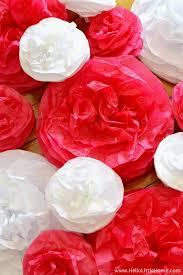 diy tissue paper pom poms o