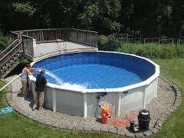 Image Inground Pools Our Picks For The Best Above Ground Pools For Small Backyards Splashcopilot Best Above Ground Pools For Small Backyards